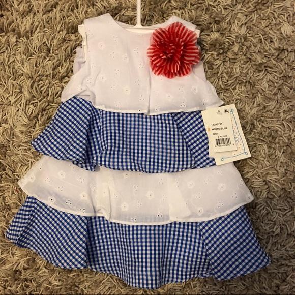Macy S Dresses Baby Girl Dress 12 Month Old Poshmark